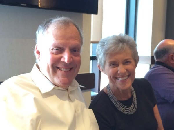 Carl Silverman and Kathy Aberman